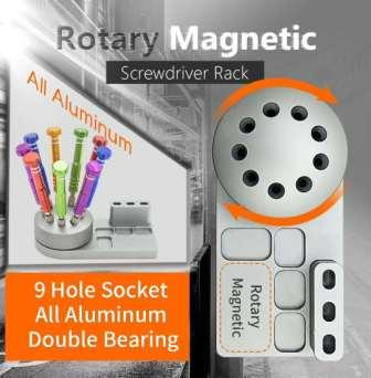ROTATING SCREWDRIVER HOLDER