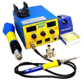 YX881D+ HOT AIR GUN SMD REWORK STATION