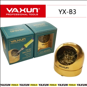 YX-B3 SOLDERING IRON TIP CLEANING WIRE SCRUBBER YAXUN