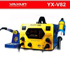 YX V82 HOT AIR GUN SMD REWORK STATION